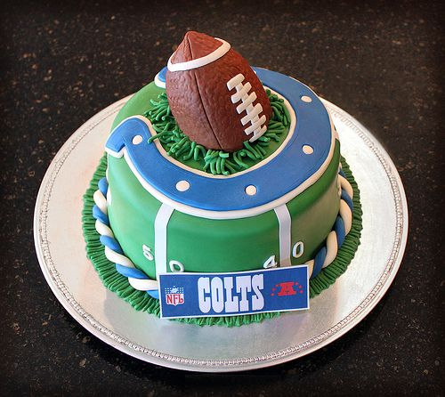 Colts Cake Indianapolis colts Cake and Birthdays