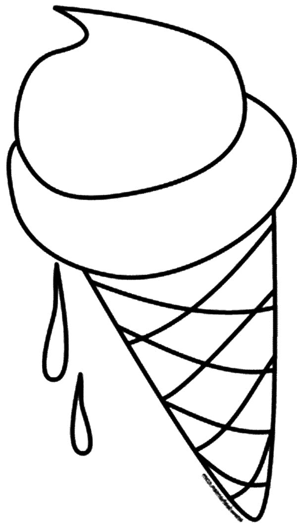 Ice Cream Cone Melting Coloring Pages Bulk Color Ice Cream Coloring Pages Coloring Pages Printables Free Kids Coloring