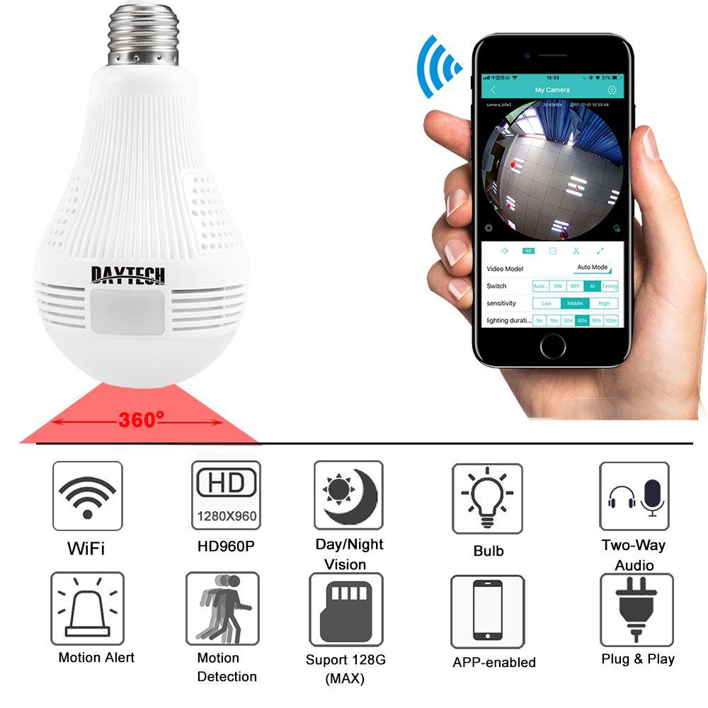 Daytech Wireless Ip Camera Wifi Home Security Camera Hd 960p Baby