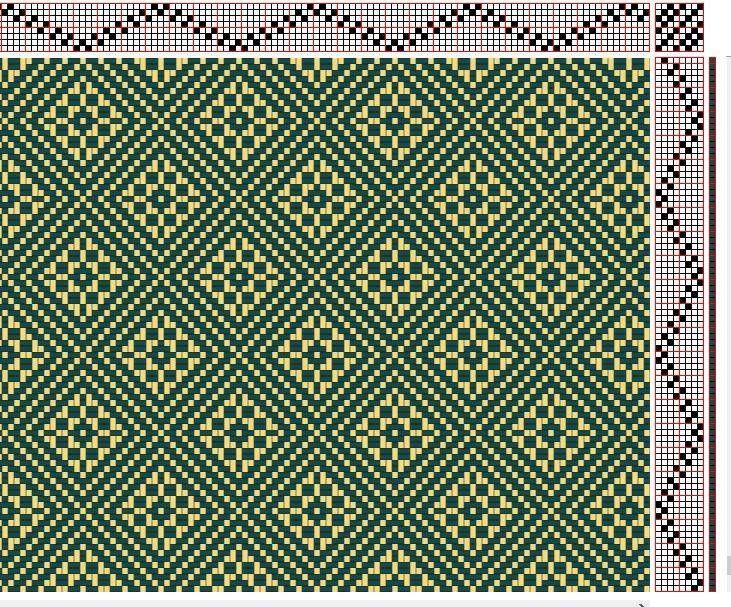 8-shaft, 8-treadle | weaving | Pinterest | Esquemas, Telar y Divertido