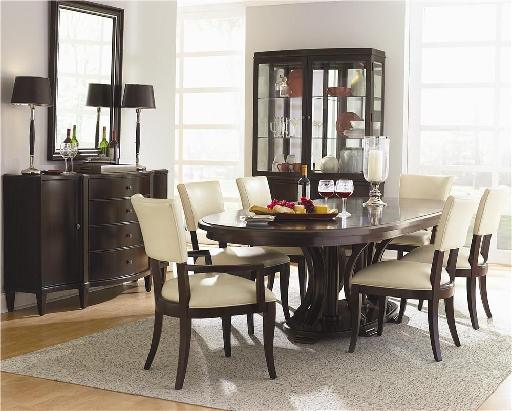 Westwood 7 Piece Formal Dining Set by Bernhardt - Belfort ...