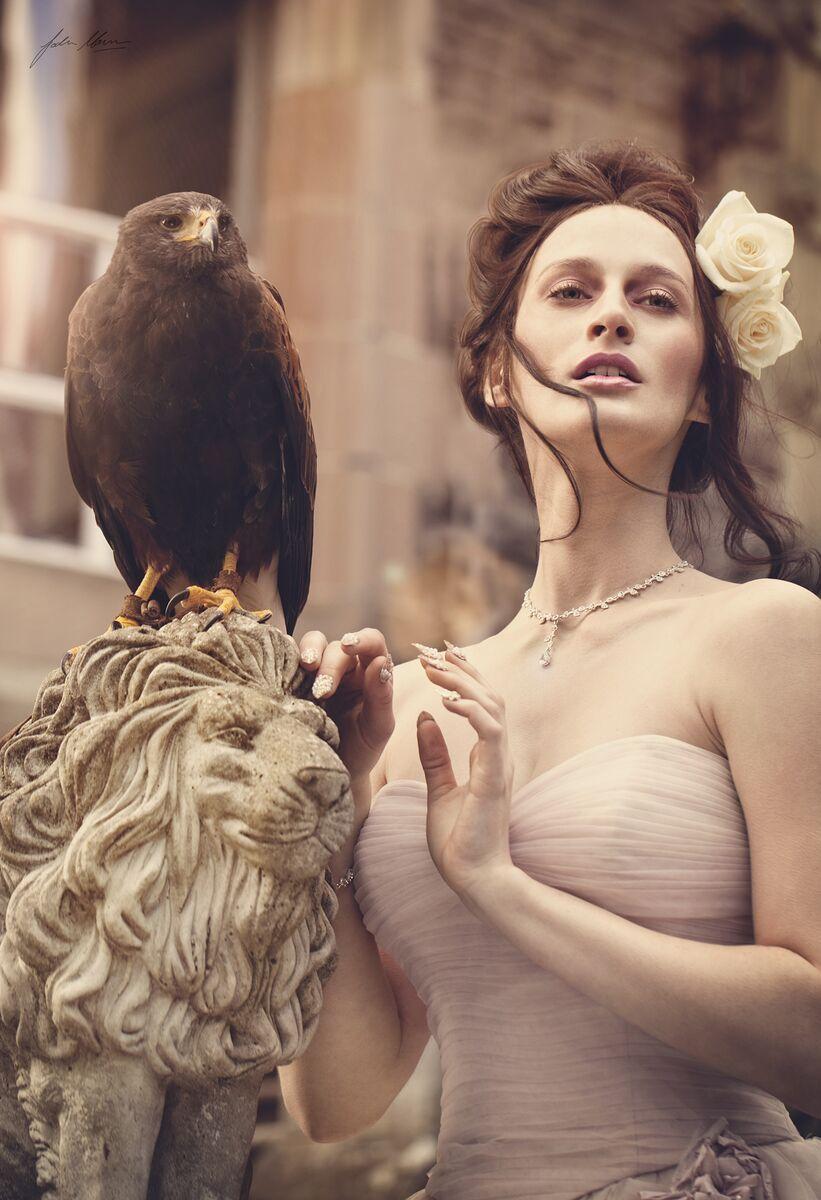 Bridal Editorial From Dusk Till Dawn Photographer