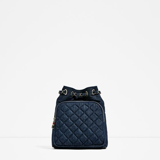 Image 2 of QUILTED MINI BACKPACK from Zara | Shopping List ... : quilted rucksack zara - Adamdwight.com