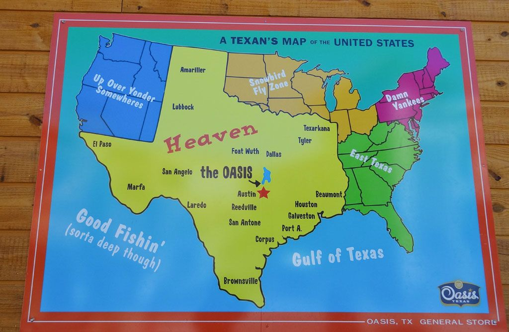 texans map of the united states A Texan S Map Of The United States Austin Tx Usa United