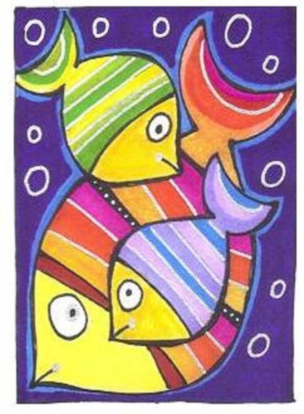 Dit Plaatje Past Goed Bij De Term Compositie Omdat Dit Plaatje Verschillende Delen Van De V Detskie Risunki Folk Art Kartiny Risunki Detskie Tvorcheskie Proekty
