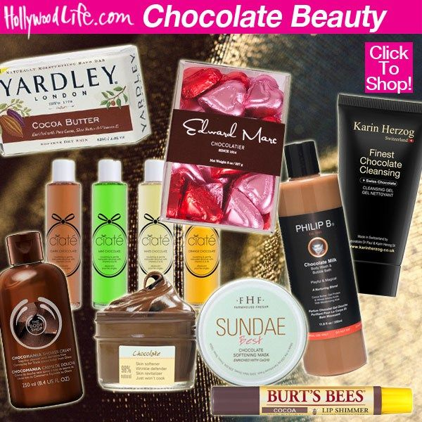 Chocolate Beauty: 10 Yummy Smelling Creams & More