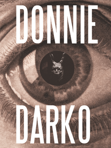 #DonnieDarko #2001 #alternative #eye #cinema #movie #VincentGabriele #illustration #film #poster