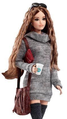 #TheBarbieLook Barbie Doll – City Chic Style | DYX63 | Barbie