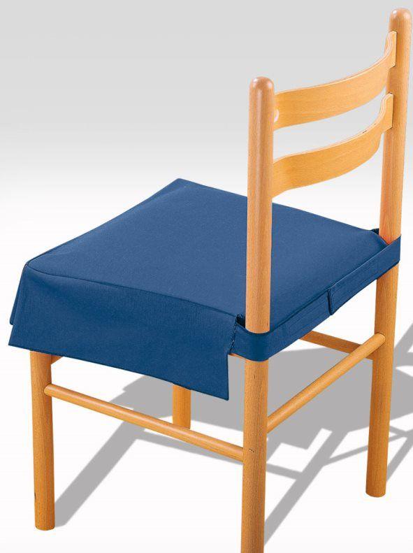 Funda silla loneta con fuelle y relleno | Fundas para sillas