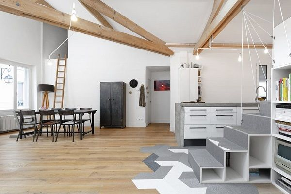 Progettazione Dinterni Fai Da Te : Un loft a parigi temel sanat arredamento