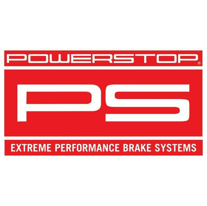 New Power Stop logo in \