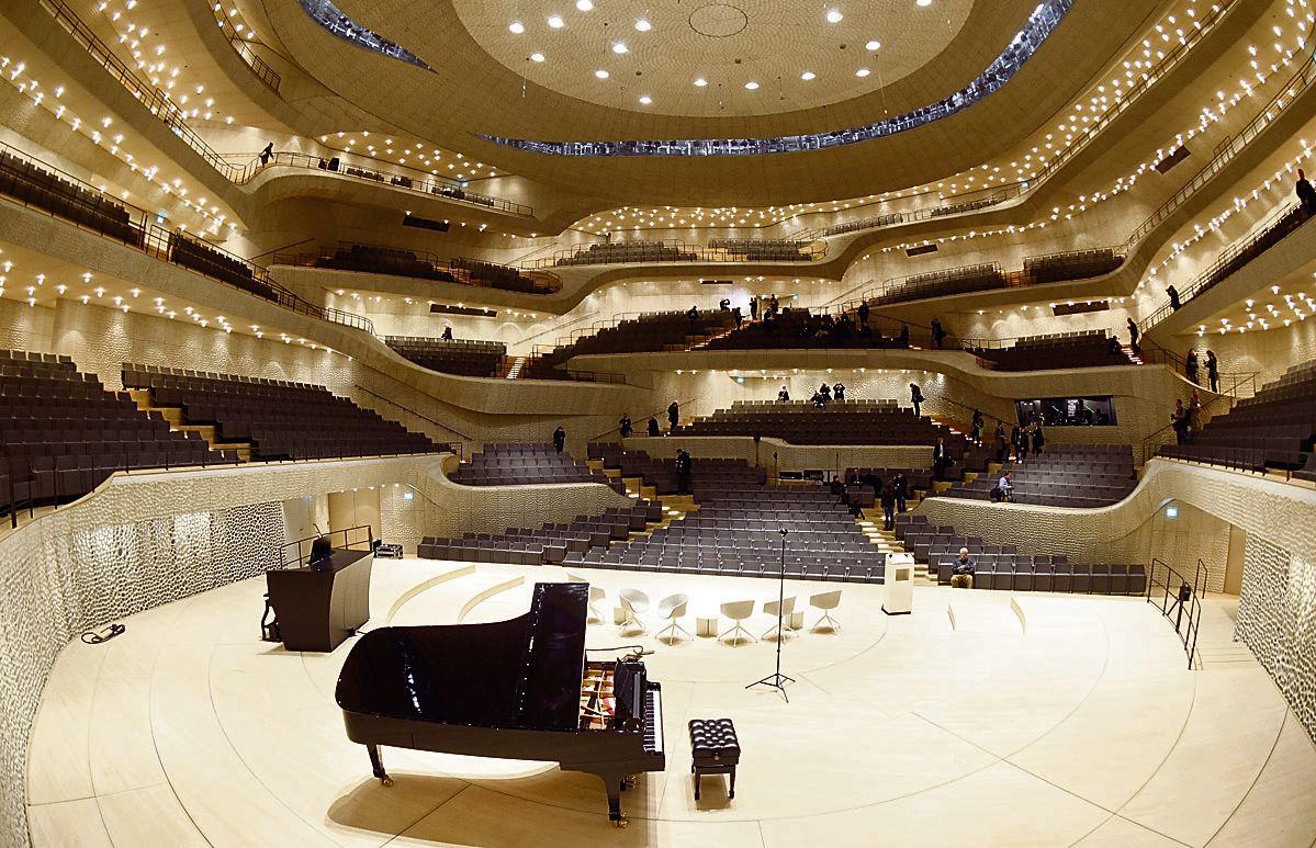 Bauprojekte Die Elbphilharmonie Ist Endlich Fertig Konzerthalle Auditorium Design Bau