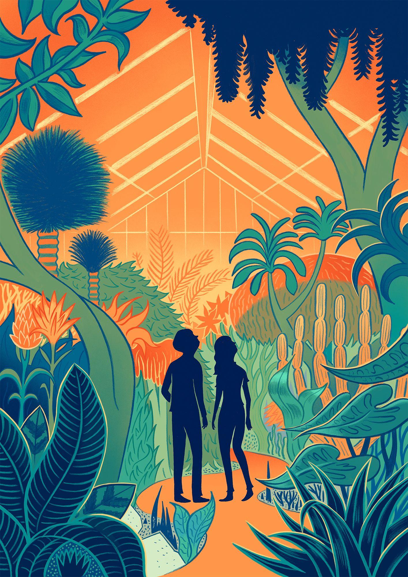 Robert Hunter Kew Gardens   Blink Art   ILLUSTRATION   Pinterest ...