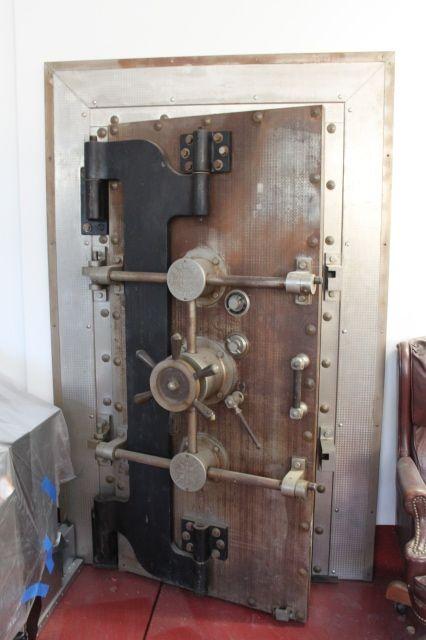 Antique Diebold Crane Hinge Door Vault Doors Cool Doors Steel