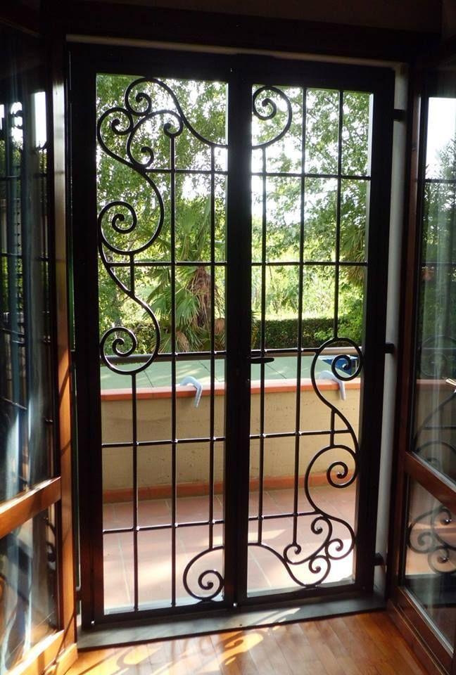 Dettagli su cancello portone in ferro battuto for Design abitazioni
