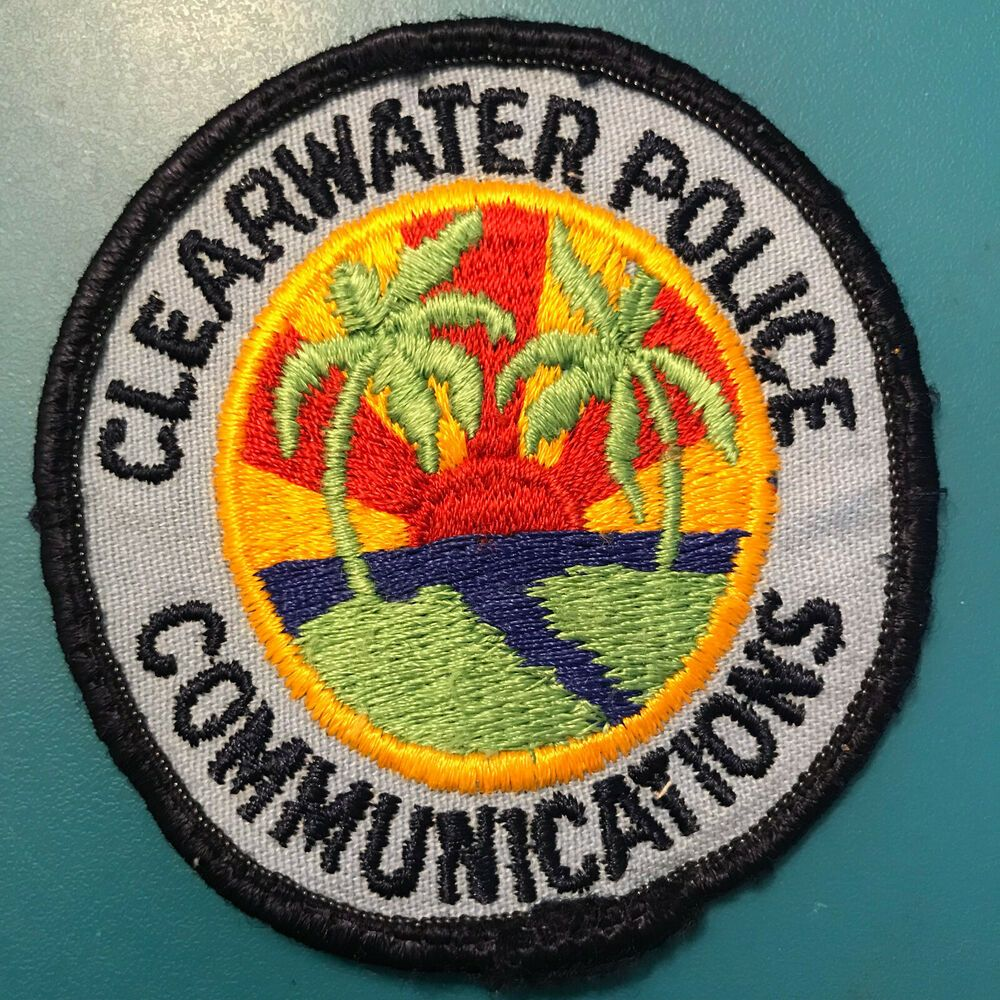 Clearwater Police Communications Dispatcher Radio Pinellas Co Florida Fl Patch Police St Petersburg Florida Patches For Sale