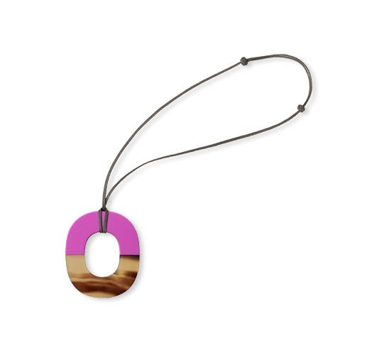 Isthme hermes pendant in buffalo horn and lacquer magenta lacquered isthme hermes pendant in buffalo horn and lacquer magenta lacquered woodbr aloadofball Gallery