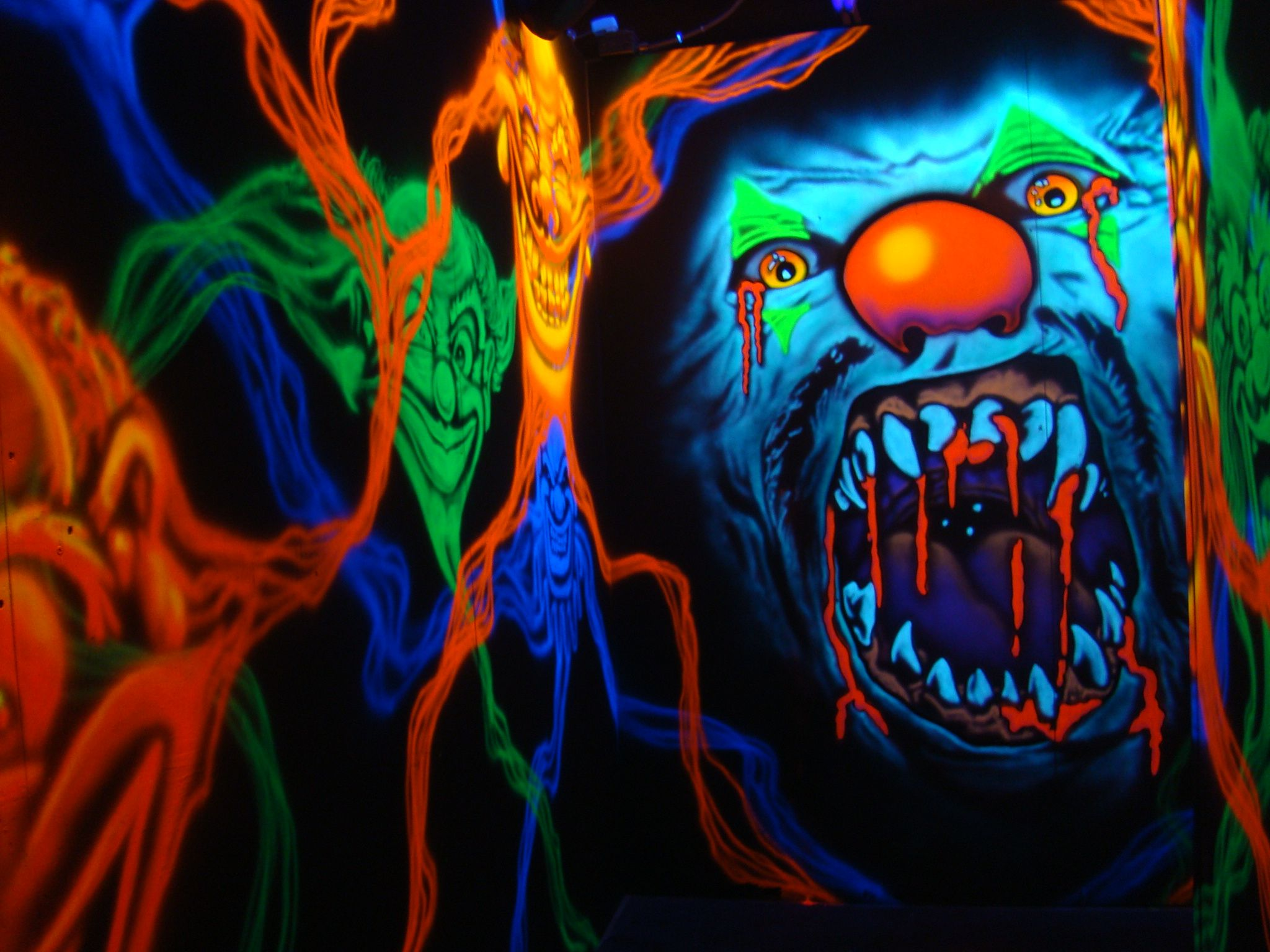 blacklight haunt | 3D Haunted Houses Packages includes but ...