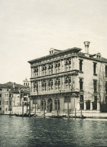 Studie aus Venedig by Archduchess Maria Theresia