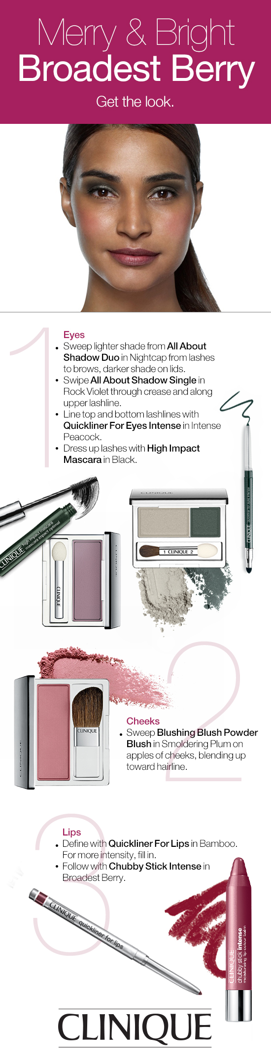 Makeup for black dress green eyes  Get this pretty holiday makeup look with just a few steps Use green
