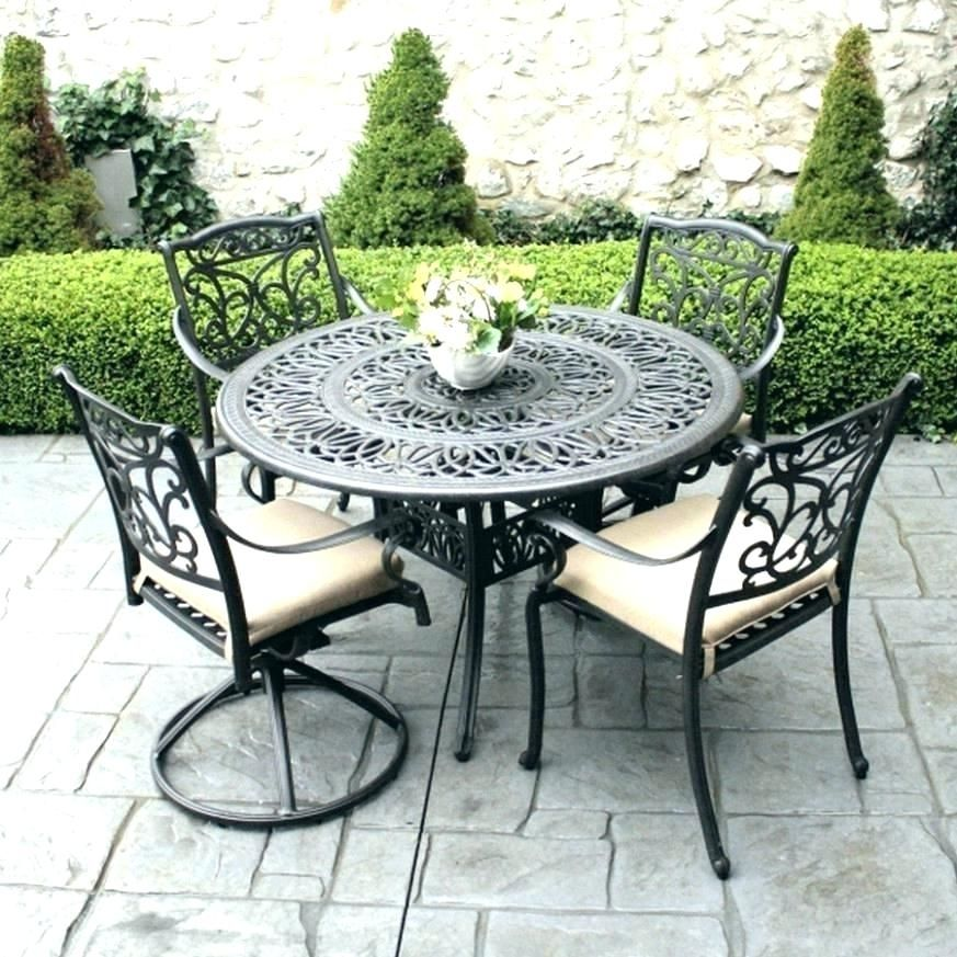 Ideas To Arrange Wrought Iron Patio Furniture Wrought Iron