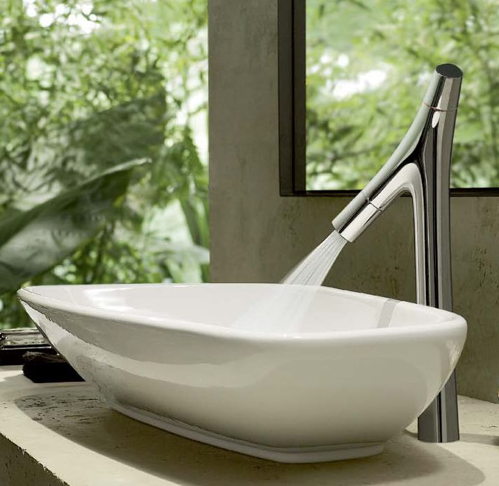 Philippe Stark faucets: Axor Starck Organic by Hansgrohe | Faucet ...