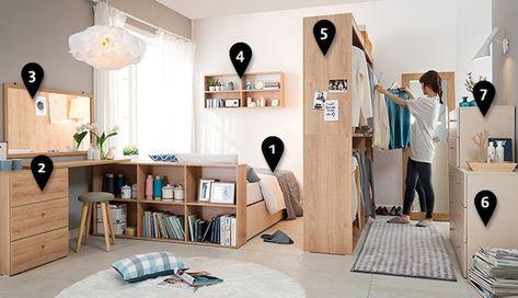 100 Awesome Apartment Studio Storage Ideas Organizing