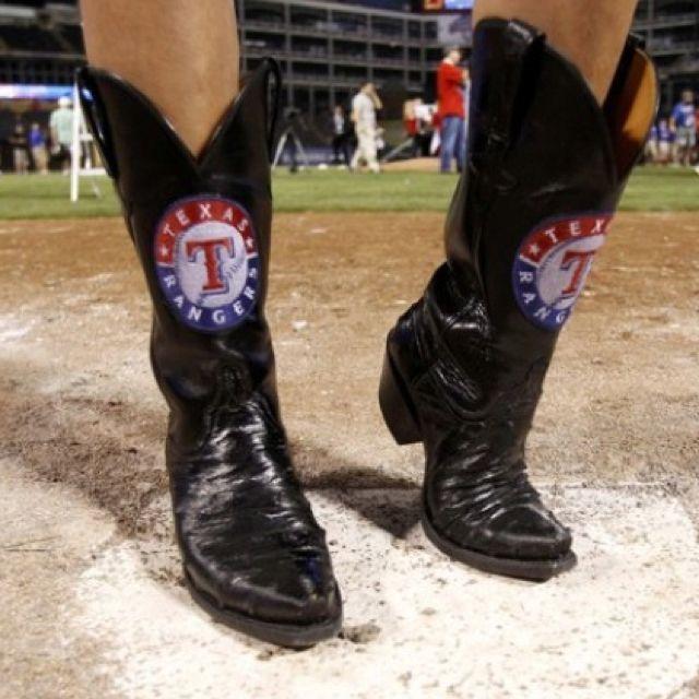 Texas Ranger Cowboy Boots Texas Rangers Tx Rangers Boots