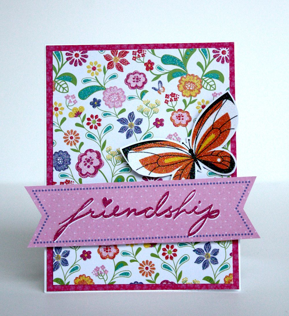 Diy Friendship Journal Free Easy Cardmaking Tutorial How To