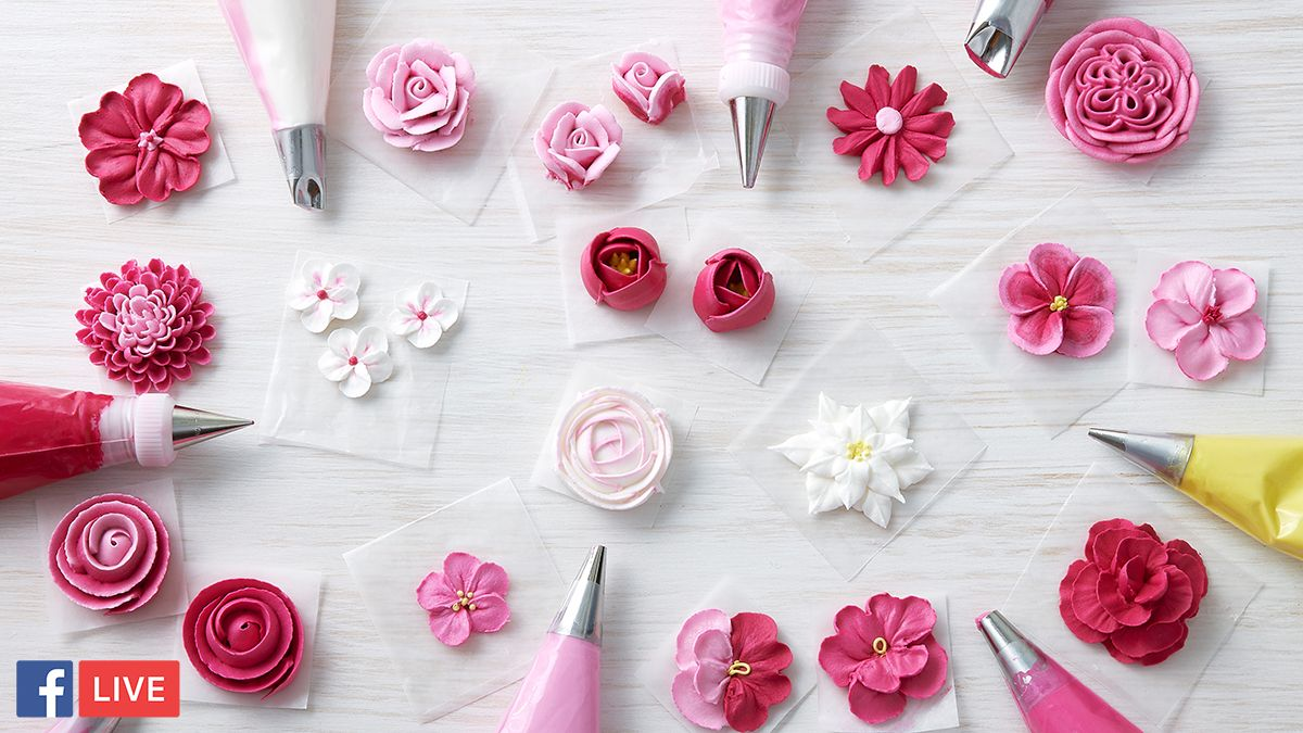 wilton how to make flowers