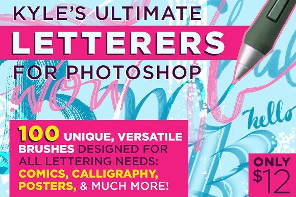 Kyle S Ultimate Letterers For Ps Creativework247 Photoshop