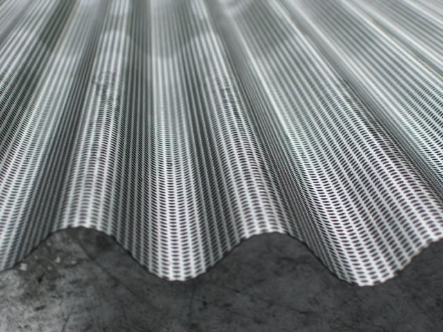 Corrugated Perforated Metal Exterior Wall Cladding