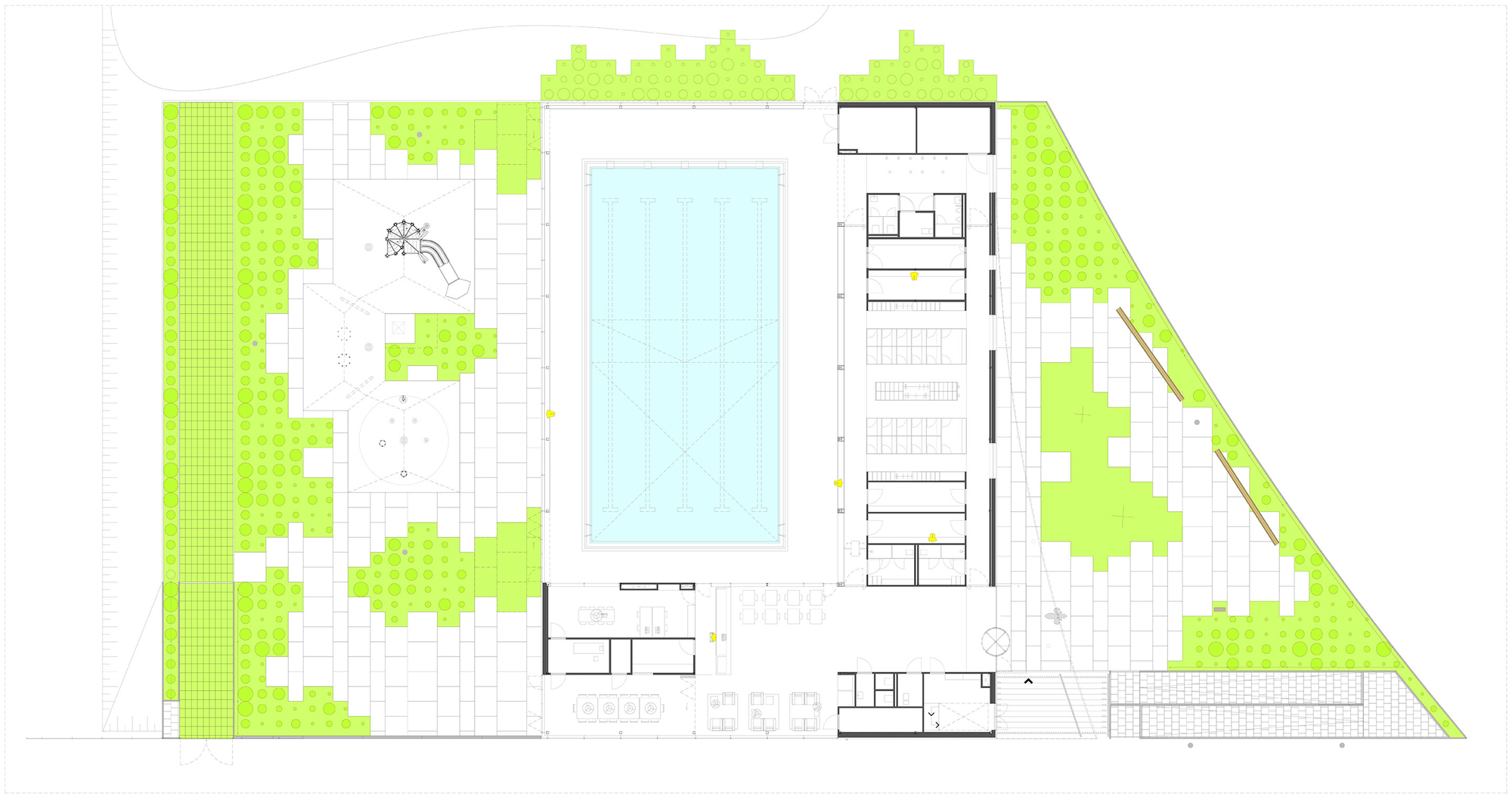 557b7a73e58eced6280002a0 De Heuvelrand Voorthuizen Swimming Pool Slangen Koenis Architecten 15 Plan Png Indoor Swimming Pools Swimming Pools Swimming Pool Spa