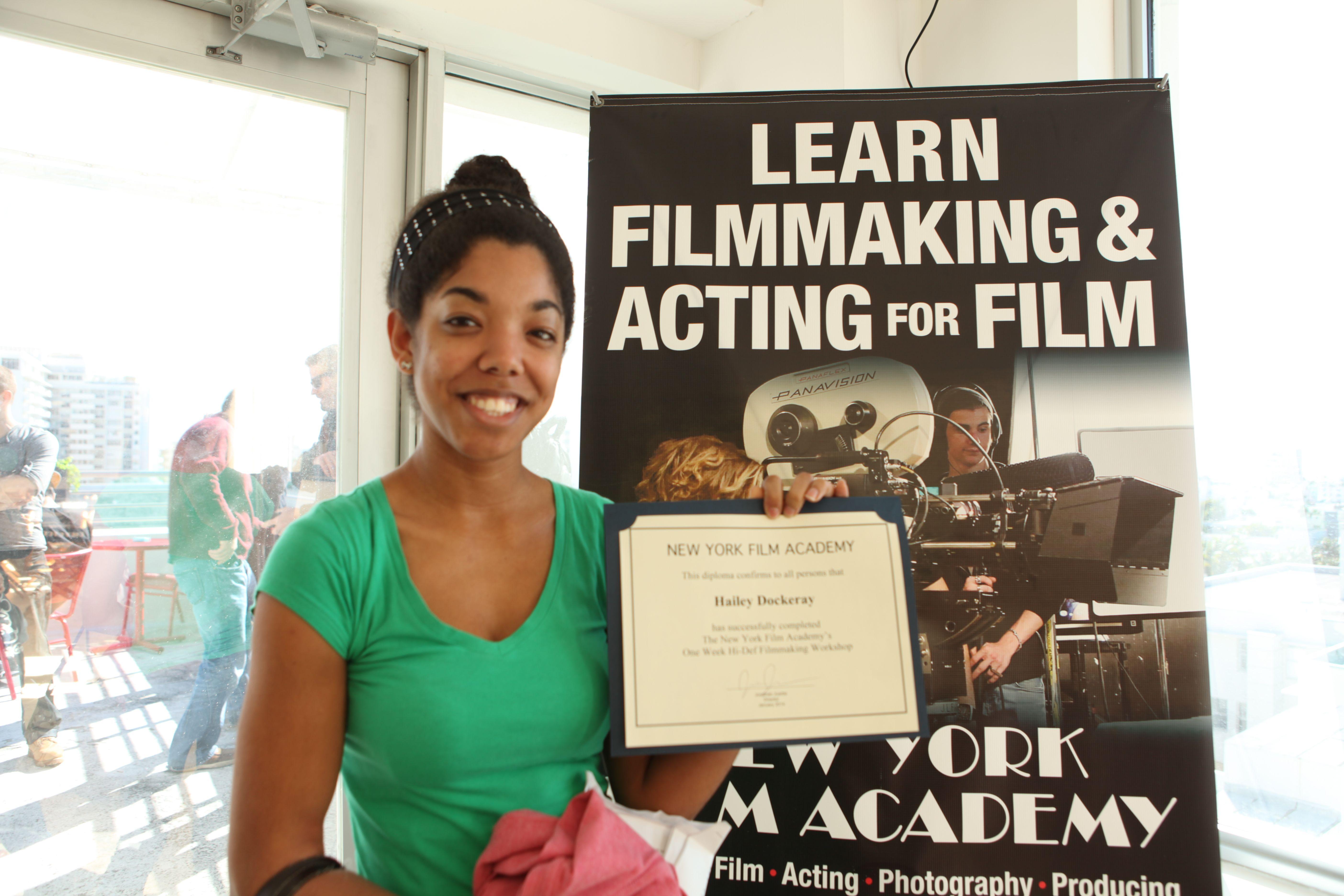 First Graduating Class At Nyfa Miami 1 Week Filmmaking