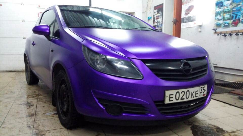 Metallic Chrome Purple | TeckWrap High premium vinyl Car Wrap | Car
