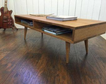 Boxer Mid Century Modern Coffee Table With Storage By Scottcassin - Mid century modern coffee table with storage