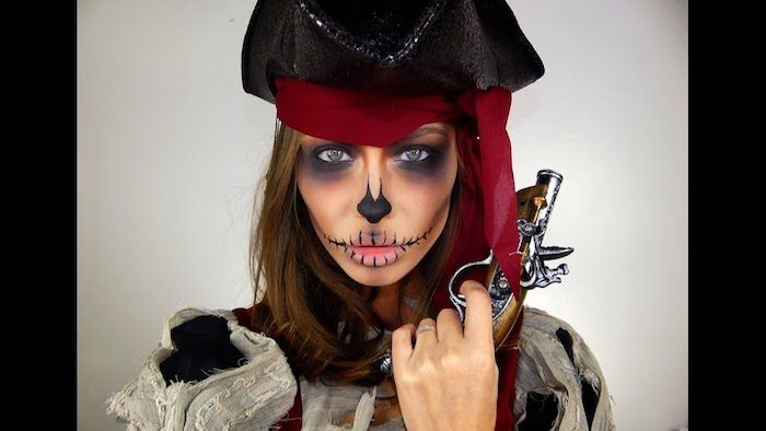 1001 Ideen Fur Lustiges Pirat Schminken Fur Gross Und Klein