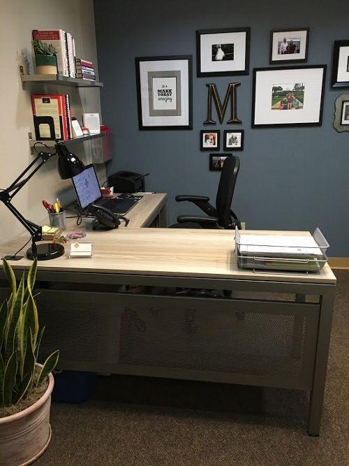 Office Tour: Michael's Calm, Contemporary Workspace Office Tour | NBF Blog