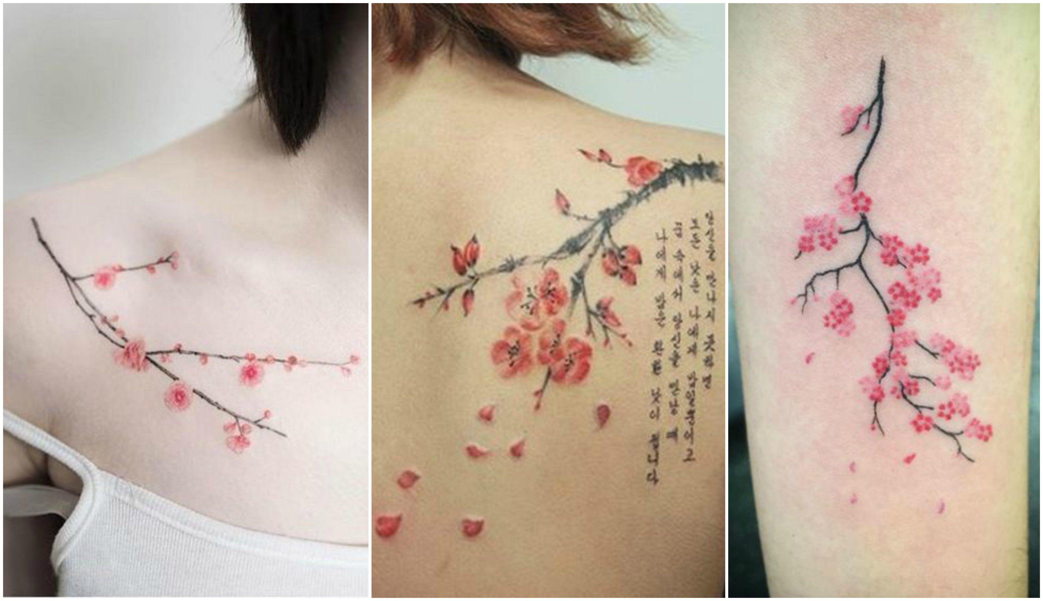 cherry blossom tattoo Google Search Cherry blossom