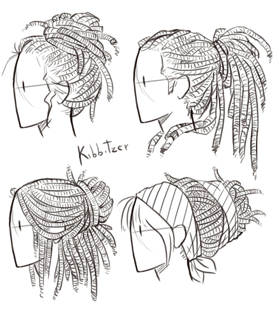 Httpanatomicalarttumblrcompostkibbihair - Hairstyle drawing tumblr