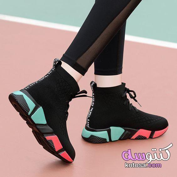 أحذية بنات جديدة 2020 اجمل الاحذية الحريمي احذية بنات على الموضة2020 أحذية2020للبنات اجمل كوتشيات Casual Sneakers Shoes Sneakers High Tops Trendy Shoes