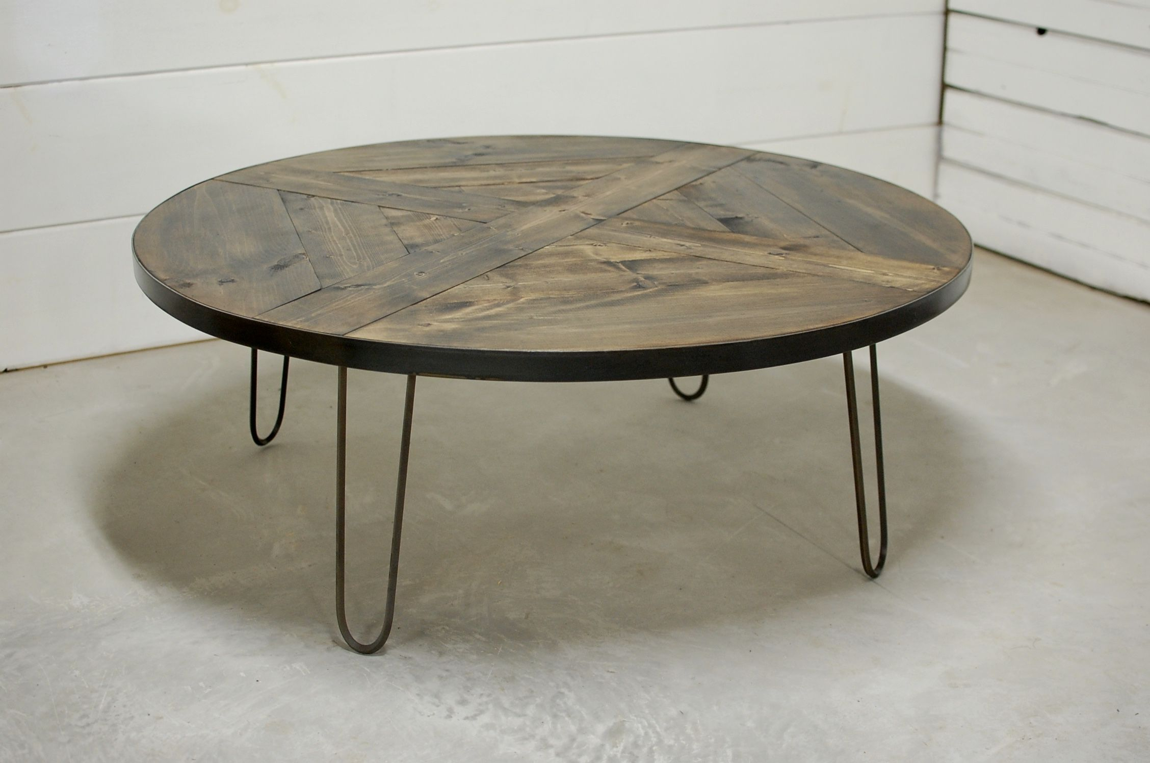 Rachela Round Hairpin Coffee Table Southern Sunshine Coffee Table Hairpin Coffee Table Table [ 1496 x 2256 Pixel ]