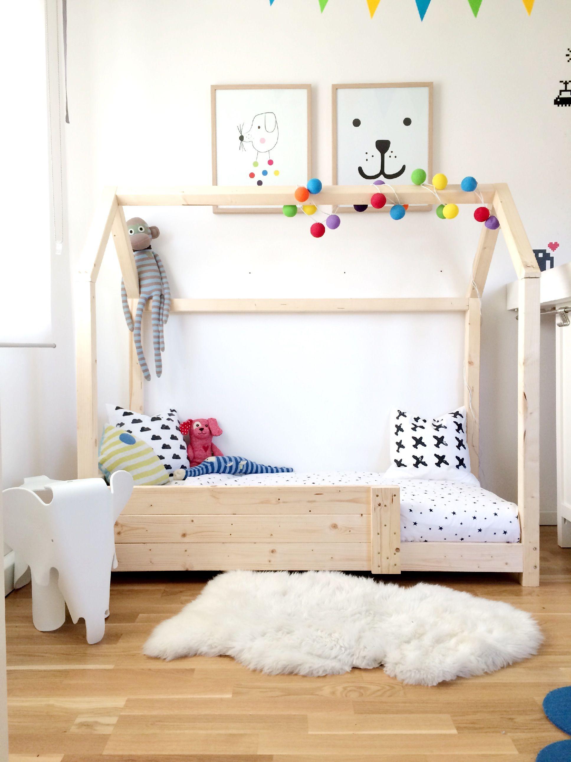 DIY Häuschenbett | Kinderzimmer, Kinderbetten und Kinderzimmer ideen