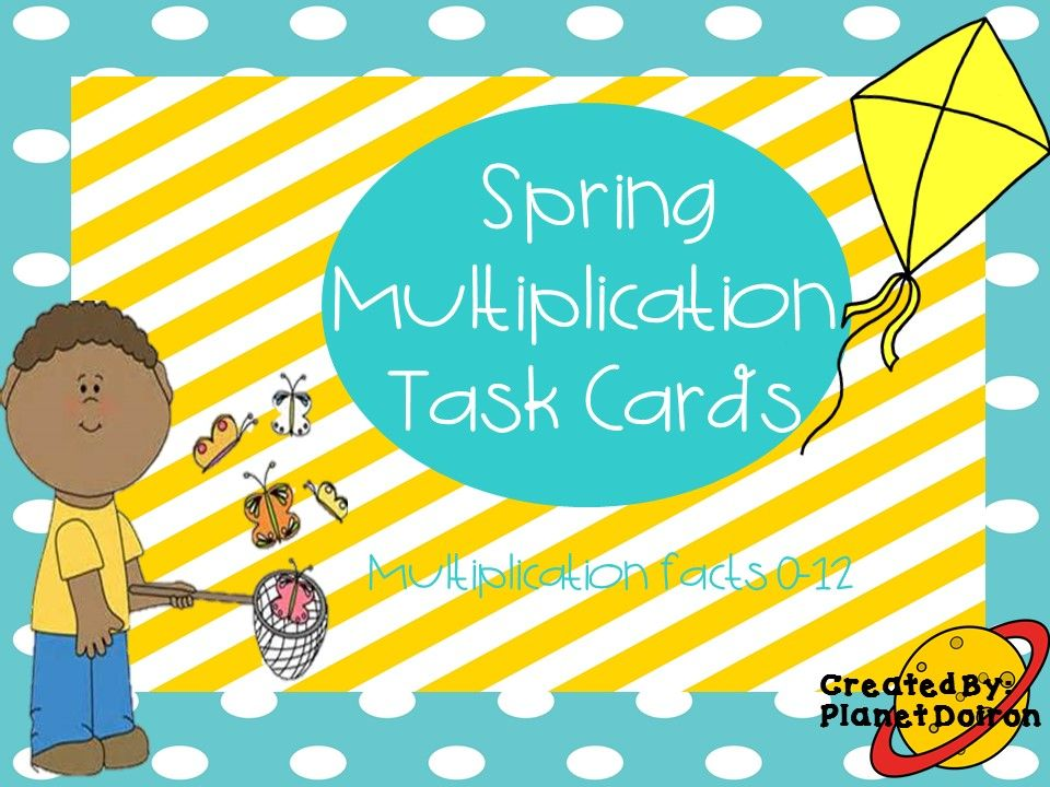 multiplication task cards 32 solve and word problems answer sheet ...