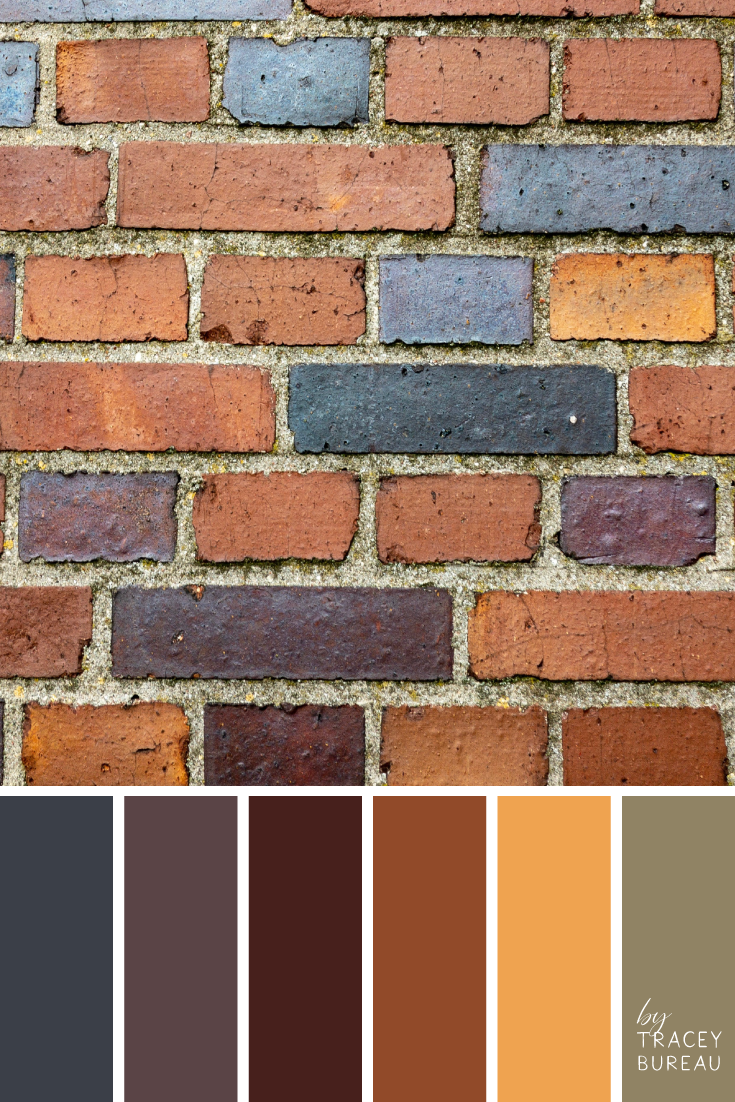 Cvetovaya Palitra 1790 Color Palette Brick Colors Color Balance