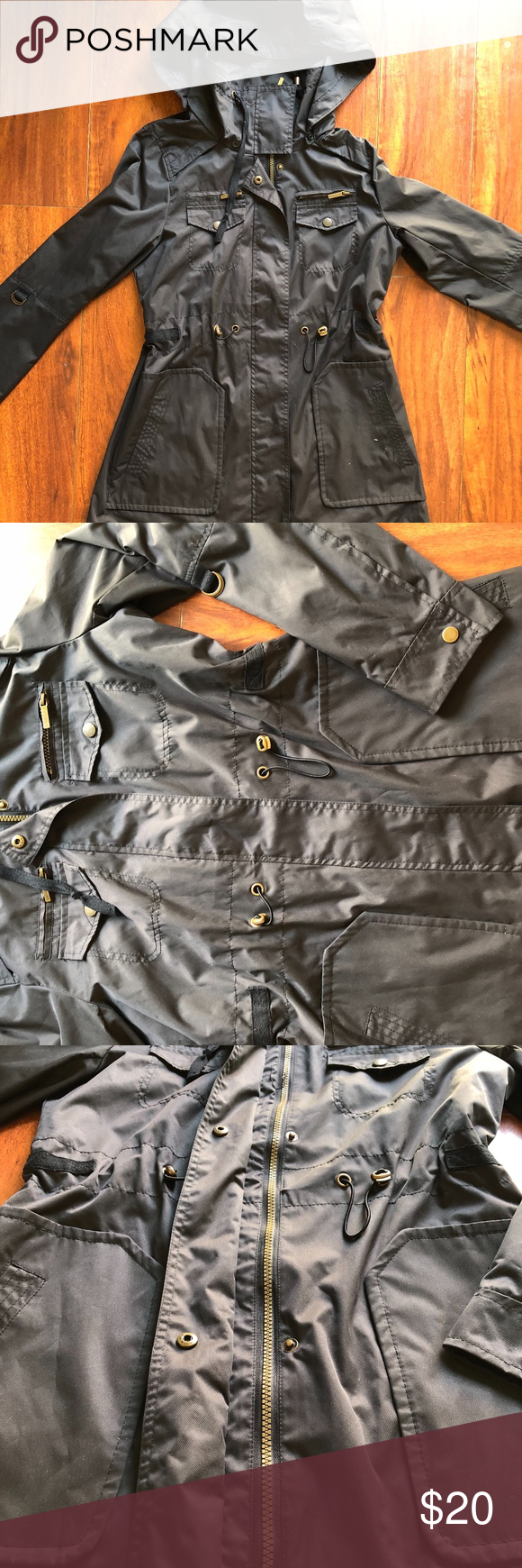Yoki Outerwear Coat Yogi Outerwear Brand Gray Coat Size Medium Detachable Hood Singed Waist Yoki Jackets Coats Utility Jackets Outerwear Outerwear Coats Yoki [ 1740 x 580 Pixel ]