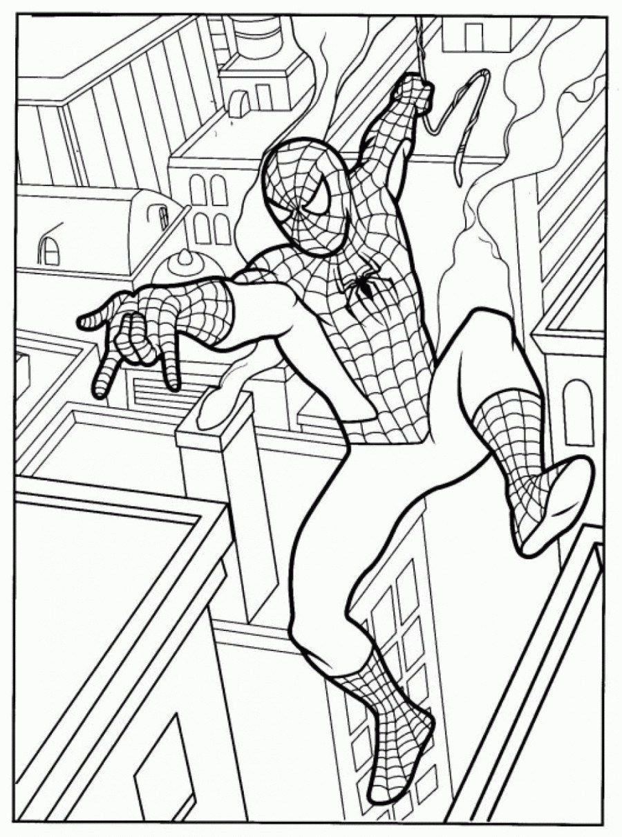 Marvelous Image Of Free Spiderman Coloring Pages Davemelillo Com Spiderman Coloring Cartoon Coloring Pages Coloring Books