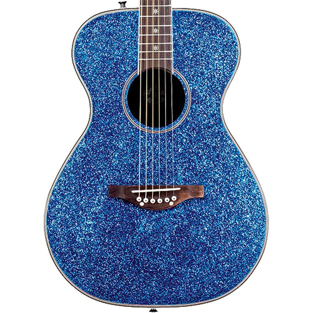 Pin By Zozo Music On Acoustic Guitars Guitar Acoustic Guitar Blue Sparkles