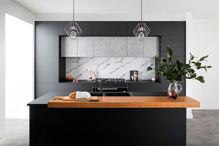 Four New Kitchen Trends For 2020 Home Beautiful Magazine Australia Kitchen Trends Modern Kitchen Design Timber Benchtop
