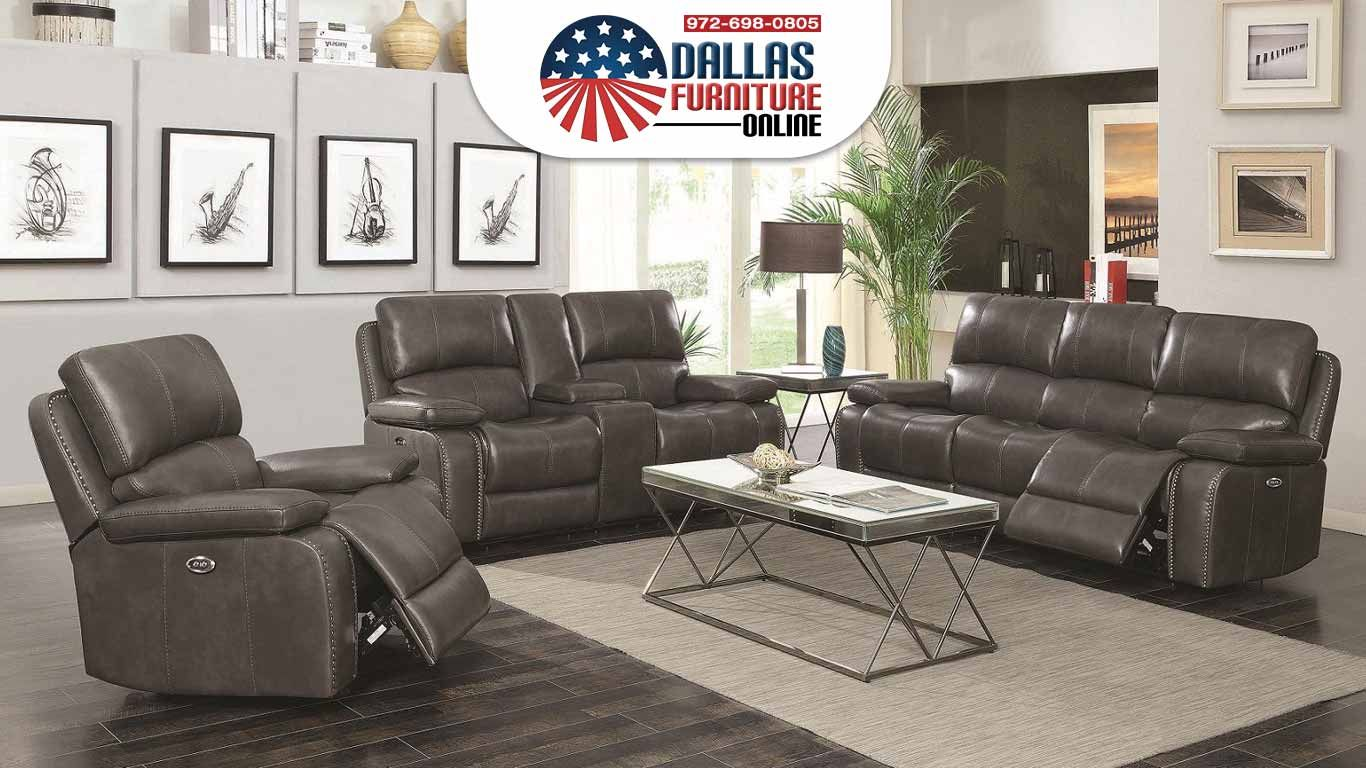 You Ll Get Style And Comfort With Coaster S Ravenna Reclining Sofa Loveseat That Features 2 Built In Recliners In Each In 2020 Furniture Sofa Set Online Furniture